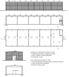 La destilería de cemento que parece de madera, por Avanto Architects