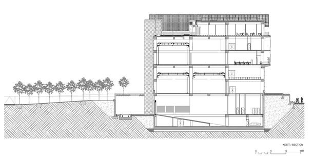 Vidrio y cemento para el Centro de Investigación y Desarrollo Kordsa, en Estambul