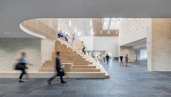 Una escuela de madera, por CF Møller