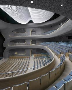 Cerámica técnica para el Fuzhou Strait Culture and Arts Centre, por PES ARK