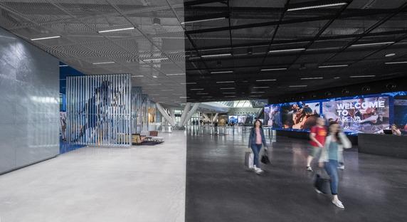Vigas Vierendeel para la Adidas Arena, por Behnisch Architekten.