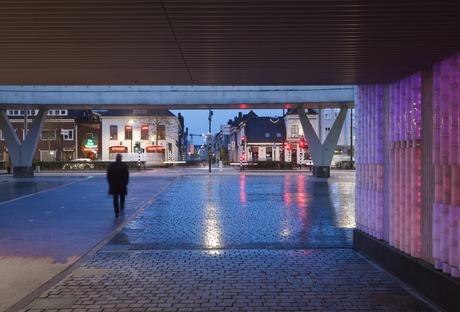 Led y vidrio para el pasaje Willem II, en Tilburg