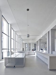 Reestructuración filológica del MAM, por h2o architects