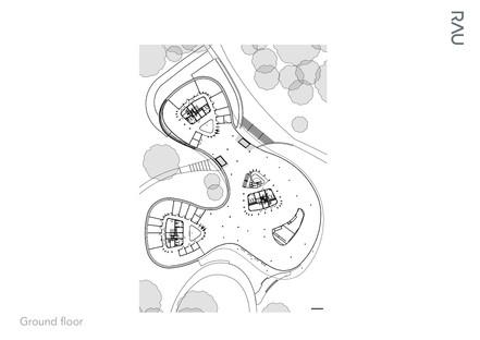 Estructura de madera desmontable para la Triodos Bank, por Rau Architects