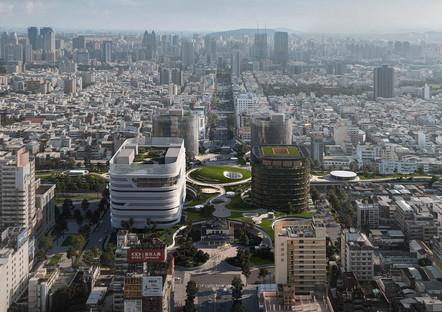 La estación de Kaohsiung, por Mecanoo, está por completarse